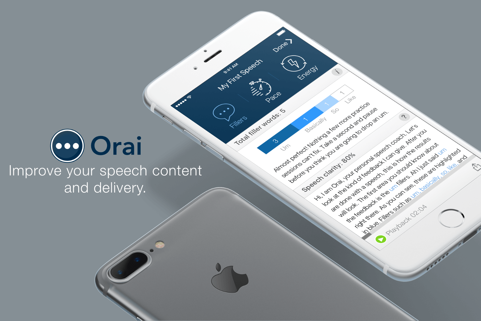 Orai - Improve your speech content and delivery